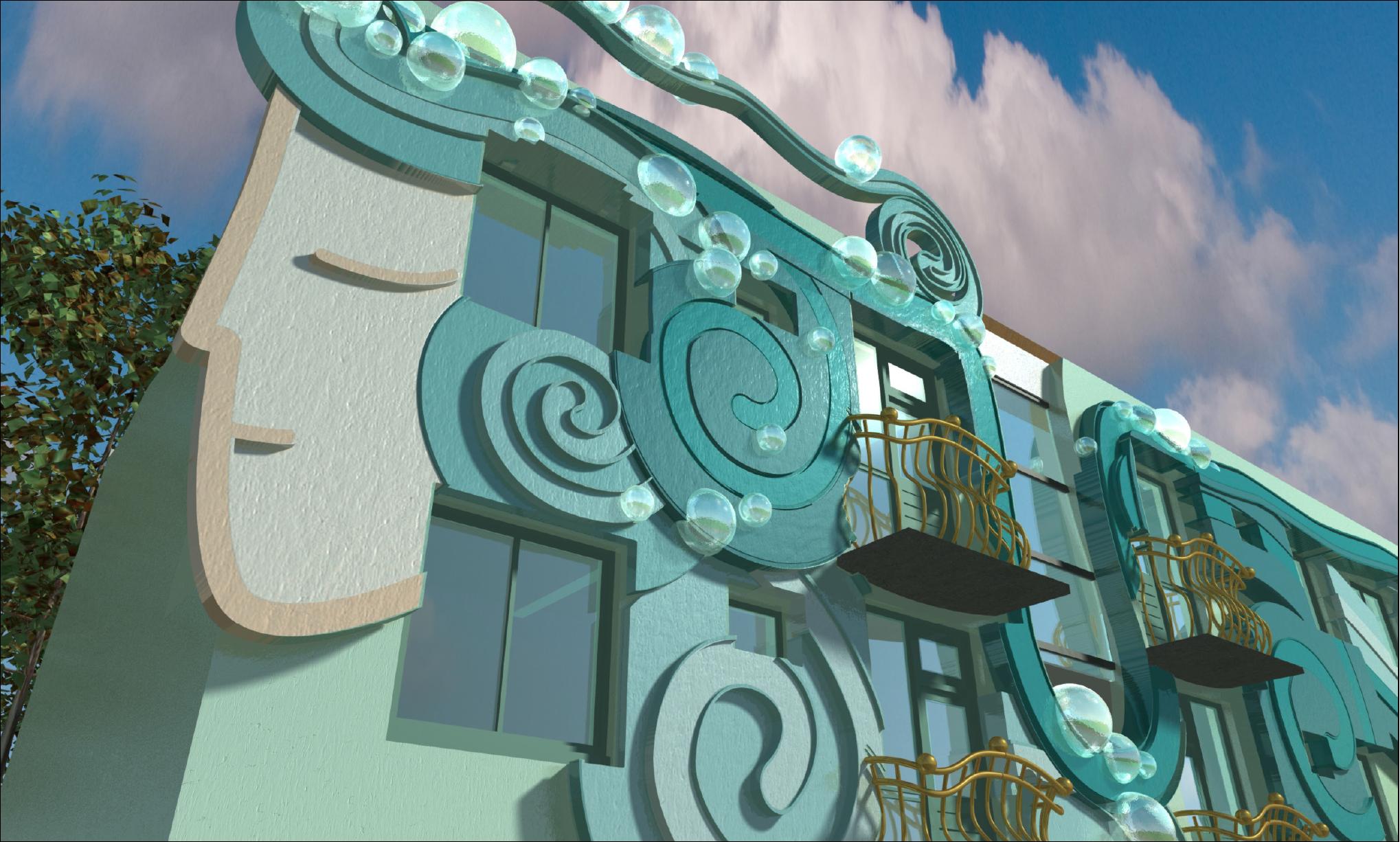 Artsy Building: Arno & Iris