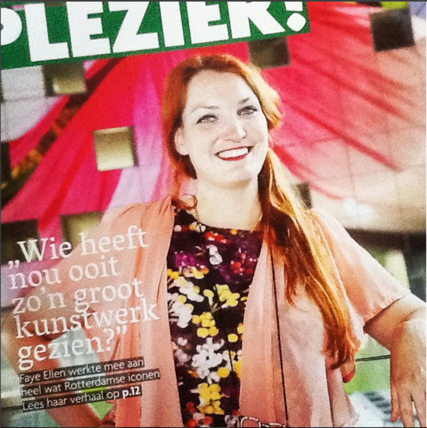 Faye Ellen interviewed by Veel Plezier
