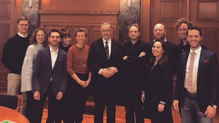 R'damse Nieuwe with Mayor Ahmed Aboutaleb