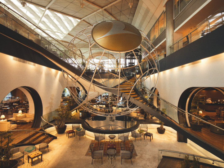 Arttenders Turkish Airlines business lounge Ataturk Airport