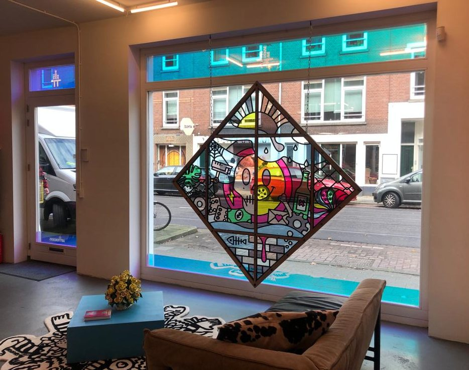 Thijs Kelder Studio Ruwedata Blind Spot Arttenders Office