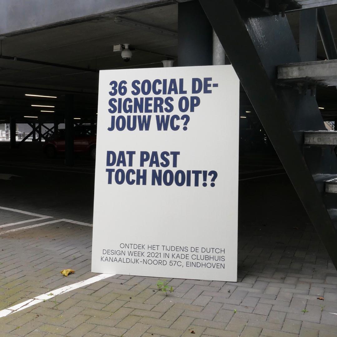 Social design scheurkalender Social desing lobby Arttenders1